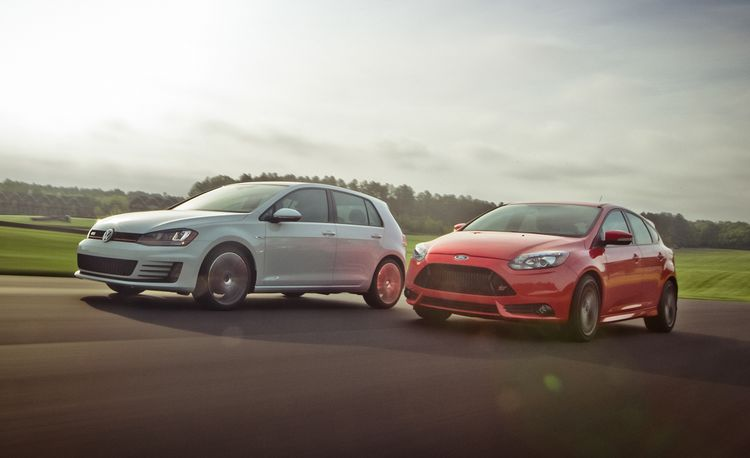 Lightning Lap 2014 LL1: The WRX, Fiesta ST, Focus ST, and GTI Battle for Class Supremacy
