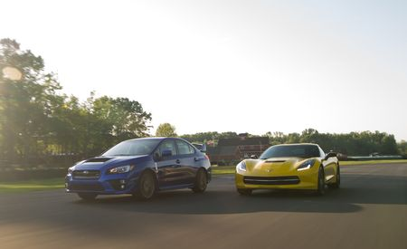 Lightning Lap 2014 LL2: The Corvette, CTS, Lexus IS, STI, CLA45 AMG, and M235i Attack VIR