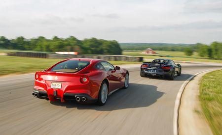 Lightning Lap 2014 LL5: Porsche 918 Spyder vs. Ferrari F12berlinetta
