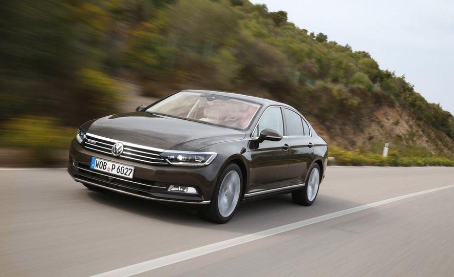 2015 Volkswagen Passat TDI 4MOTION (Euro-spec) - Slide 1