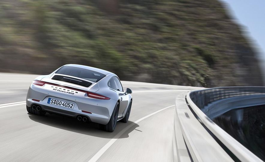 2015 Porsche 911 Carrera GTS roadster, GTS 4 roadster, GTS coupe, and GTS 4 coupe - Slide 6