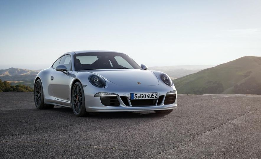 2015 Porsche 911 Carrera GTS roadster, GTS 4 roadster, GTS coupe, and GTS 4 coupe - Slide 7