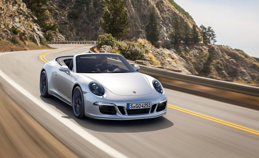 2015 Porsche 911 Carrera GTS roadster, GTS 4 roadster, GTS coupe, and GTS 4 coupe - Slide 8