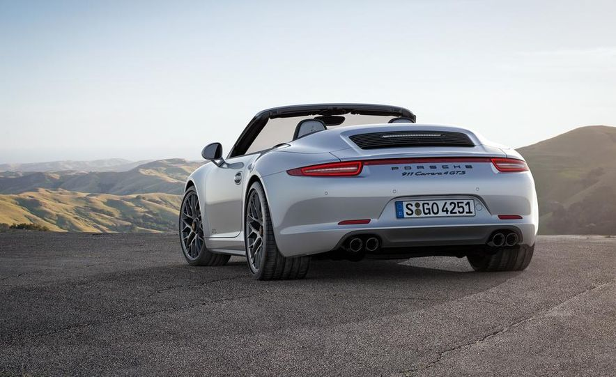2015 Porsche 911 Carrera GTS roadster, GTS 4 roadster, GTS coupe, and GTS 4 coupe - Slide 9