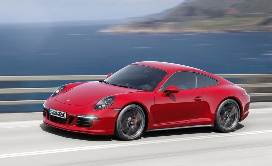 2015 Porsche 911 Carrera GTS roadster, GTS 4 roadster, GTS coupe, and GTS 4 coupe - Slide 2