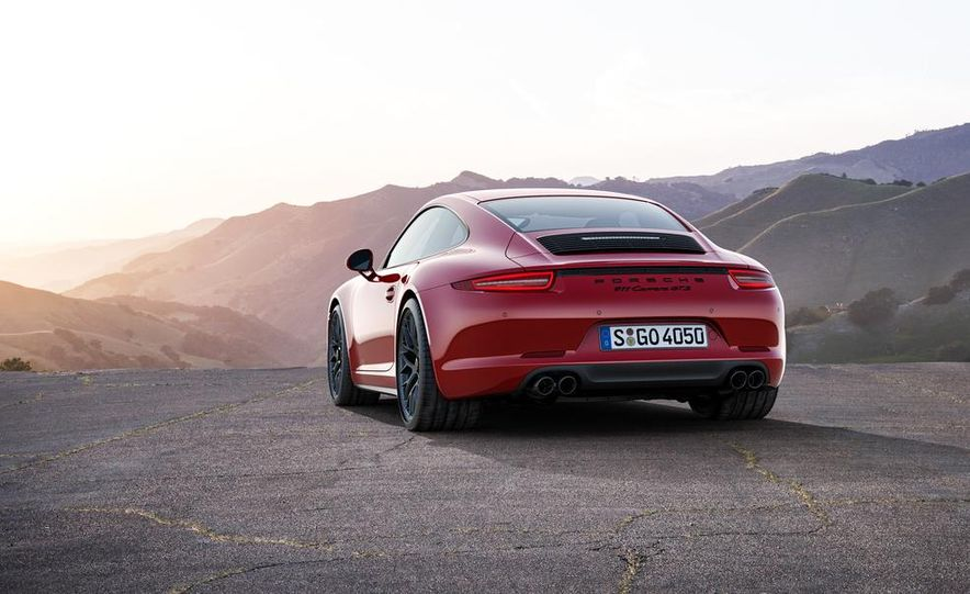 2015 Porsche 911 Carrera GTS roadster, GTS 4 roadster, GTS coupe, and GTS 4 coupe - Slide 3