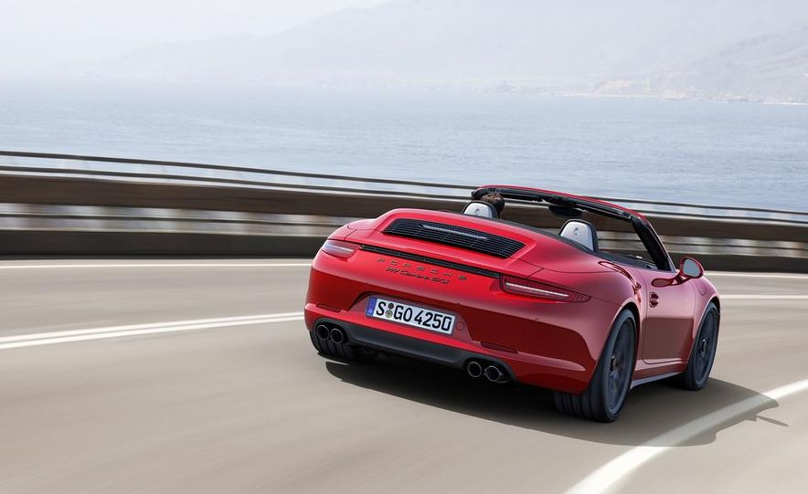 2015 Porsche 911 Carrera GTS roadster, GTS 4 roadster, GTS coupe, and GTS 4 coupe - Slide 4