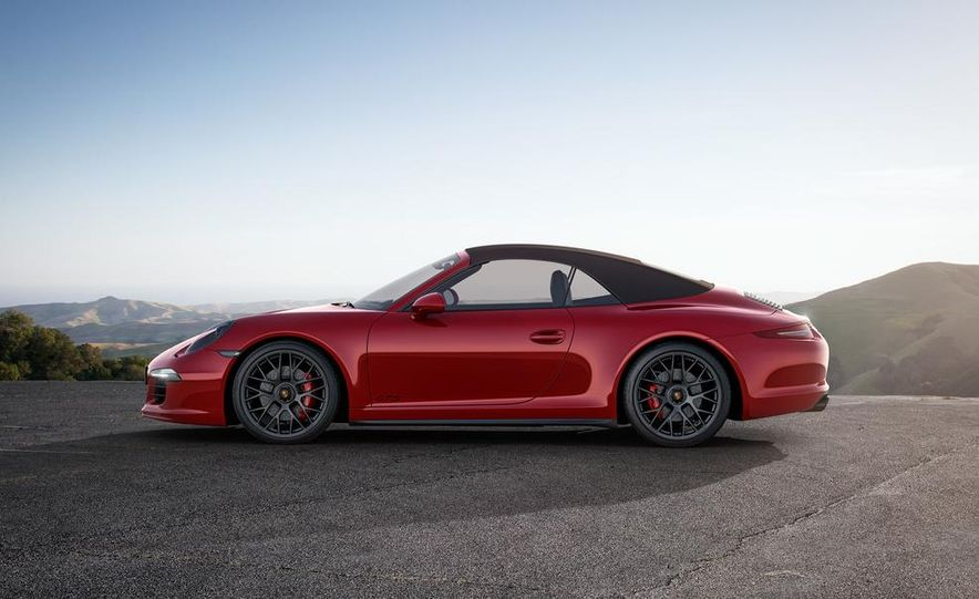 2015 Porsche 911 Carrera GTS roadster, GTS 4 roadster, GTS coupe, and GTS 4 coupe - Slide 5