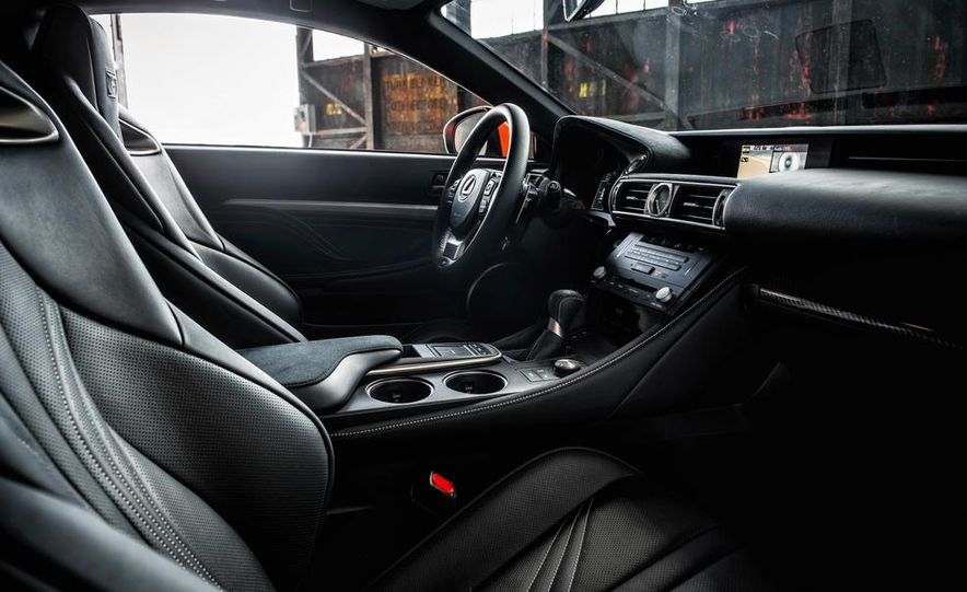 2015 Lexus RC F - Slide 25