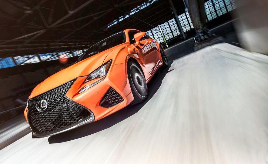 2015 Lexus RC F - Slide 2