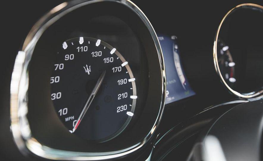 2015 Maserati Quattroporte GTS - Slide 42