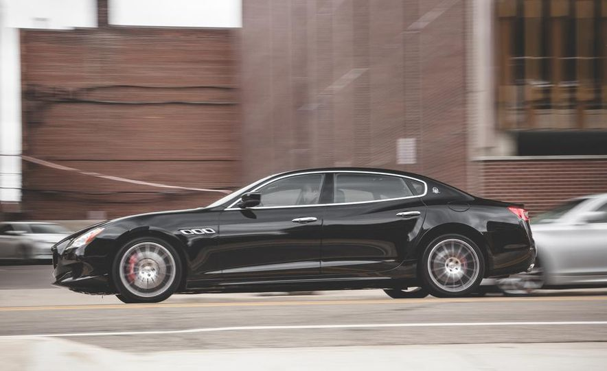2015 Maserati Quattroporte GTS - Slide 4
