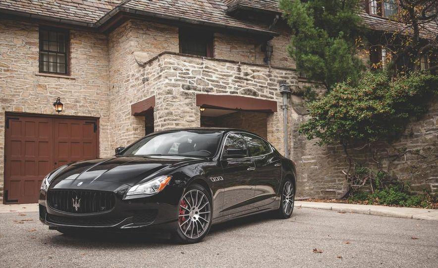 2015 Maserati Quattroporte GTS - Slide 8