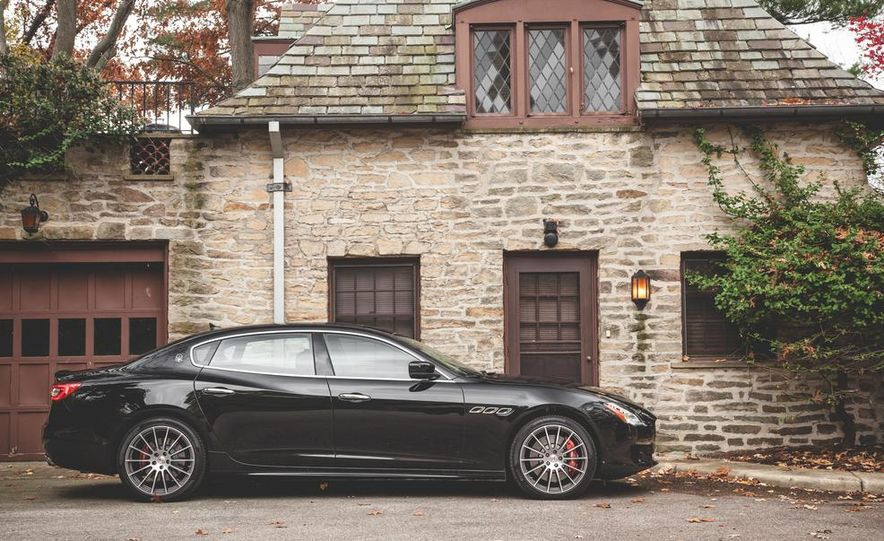 2015 Maserati Quattroporte GTS - Slide 10