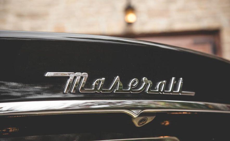 2015 Maserati Quattroporte GTS - Slide 22