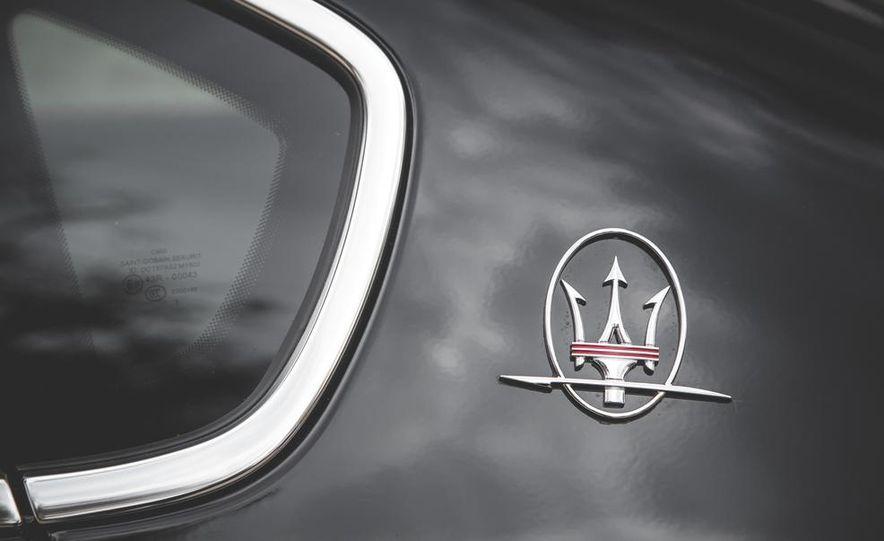 2015 Maserati Quattroporte GTS - Slide 23