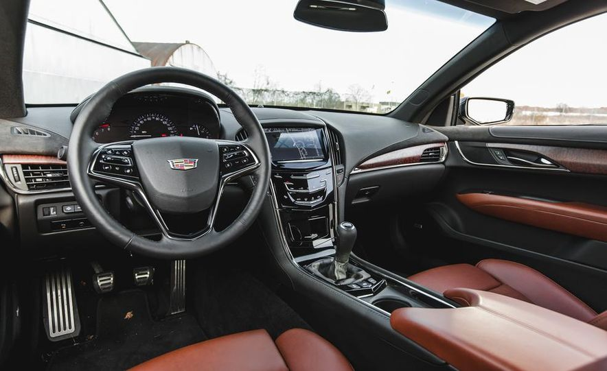 2015 Cadillac ATS coupe 2.0T - Slide 22