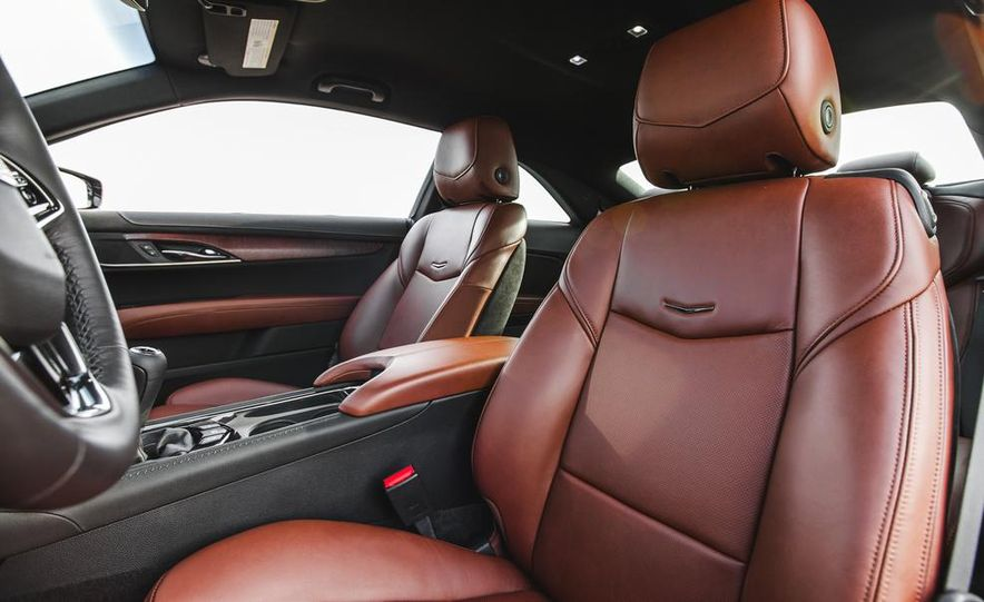 2015 Cadillac ATS coupe 2.0T - Slide 28