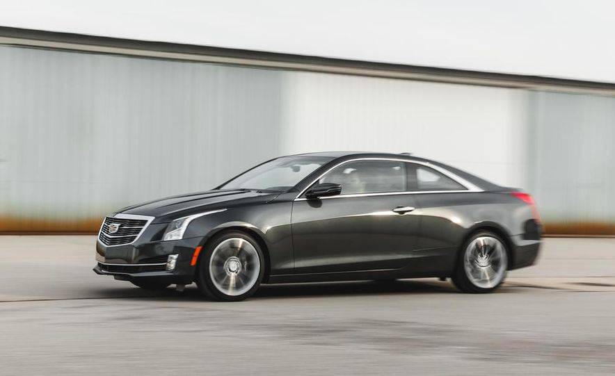2015 Cadillac ATS coupe 2.0T - Slide 2
