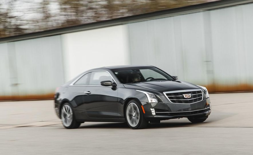 2015 Cadillac ATS coupe 2.0T - Slide 3