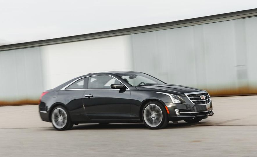2015 Cadillac ATS coupe 2.0T - Slide 4