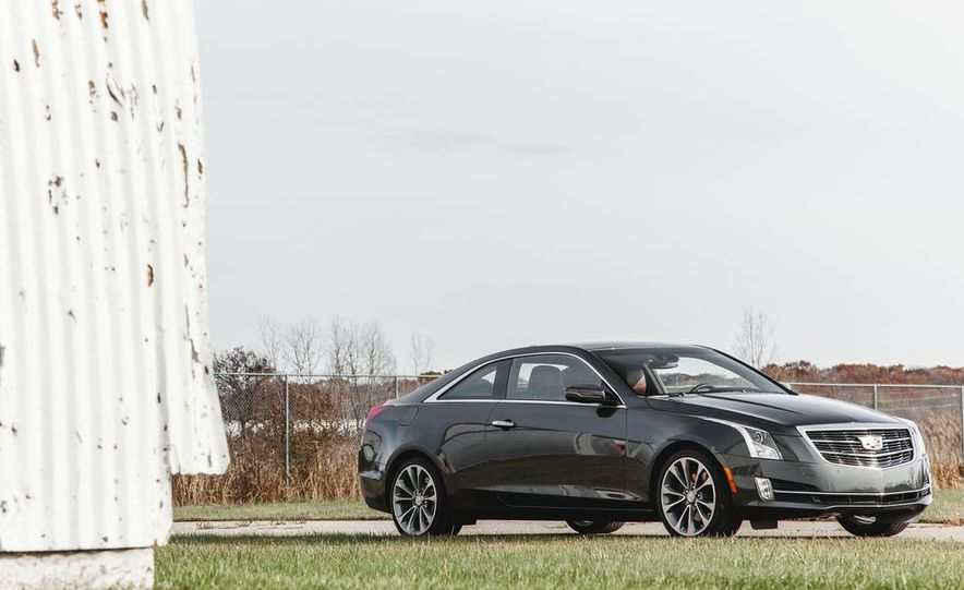 2015 Cadillac ATS coupe 2.0T - Slide 9