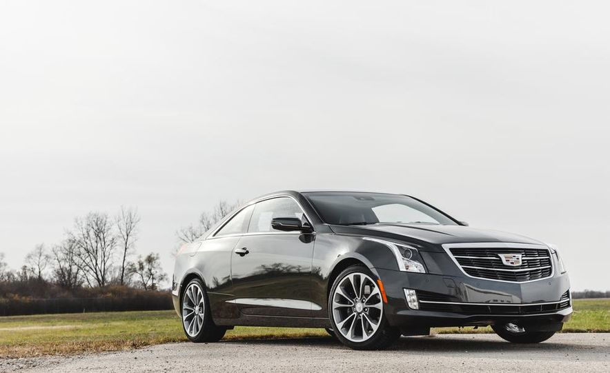 2015 Cadillac ATS coupe 2.0T - Slide 10