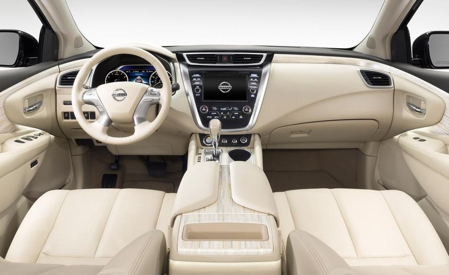 2015 Nissan Murano Platinum AWD - Slide 45