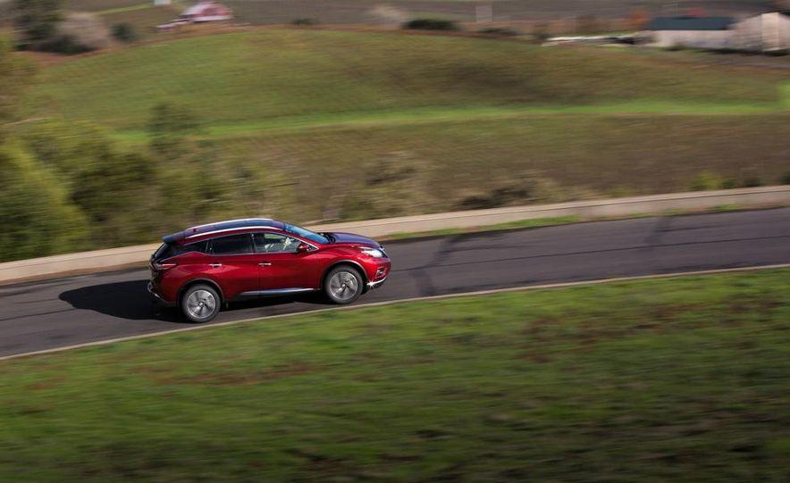 2015 Nissan Murano Platinum AWD - Slide 20