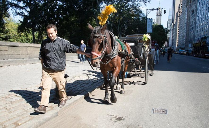 Can an Electric Car Really Replace Central Park's Horse-Drawn Carriages? - Slide 44