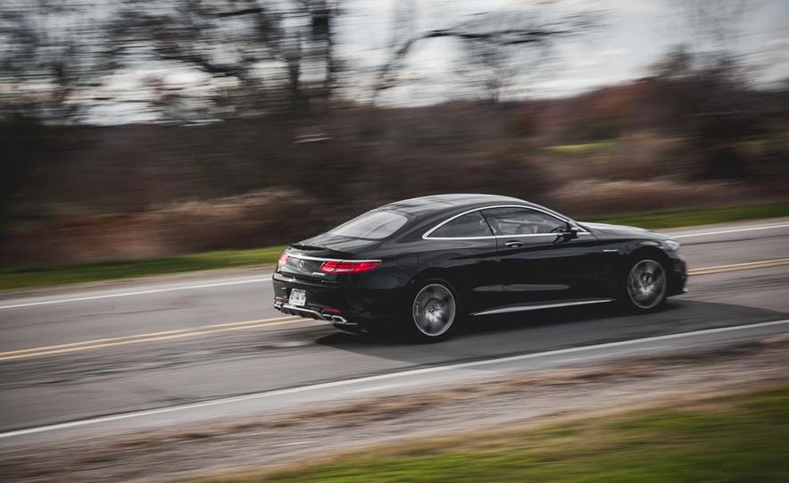 2015 Mercedes-Benz S63 AMG 4MATIC coupe - Slide 4