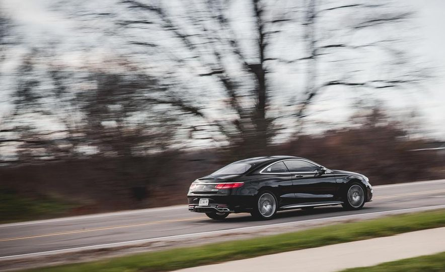 2015 Mercedes-Benz S63 AMG 4MATIC coupe - Slide 5