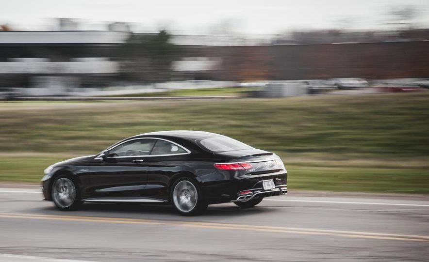 2015 Mercedes-Benz S63 AMG 4MATIC coupe - Slide 6