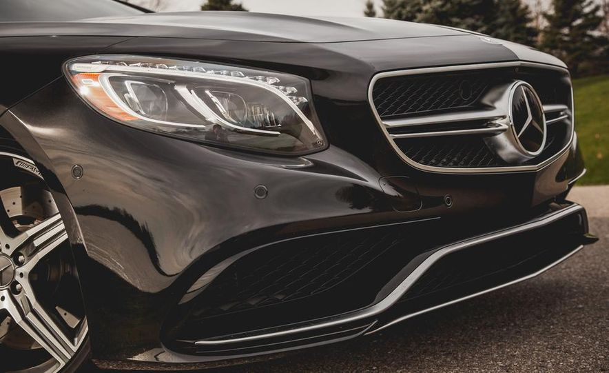 2015 Mercedes-Benz S63 AMG 4MATIC coupe - Slide 10