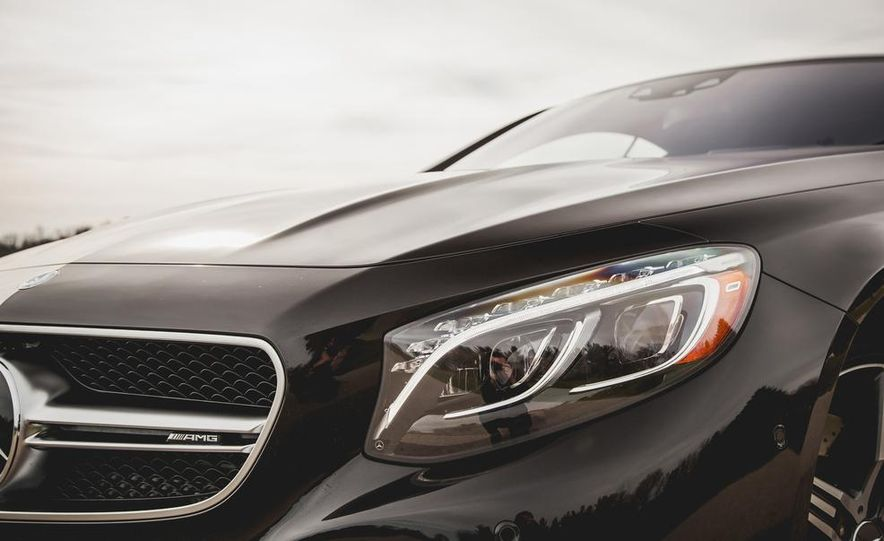 2015 Mercedes-Benz S63 AMG 4MATIC coupe - Slide 11