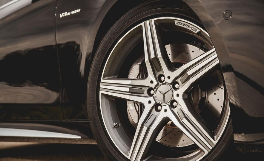 2015 Mercedes-Benz S63 AMG 4MATIC coupe - Slide 14