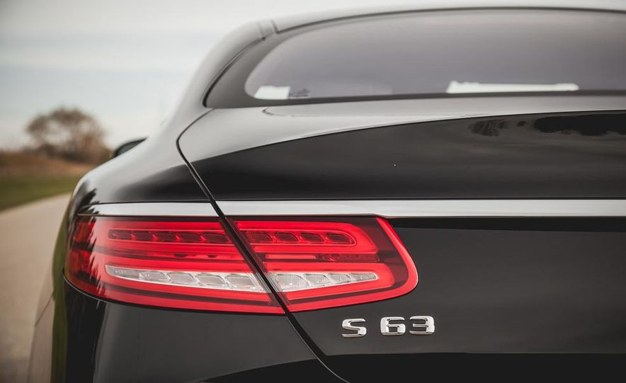 2015 Mercedes-Benz S63 AMG 4MATIC coupe - Slide 16