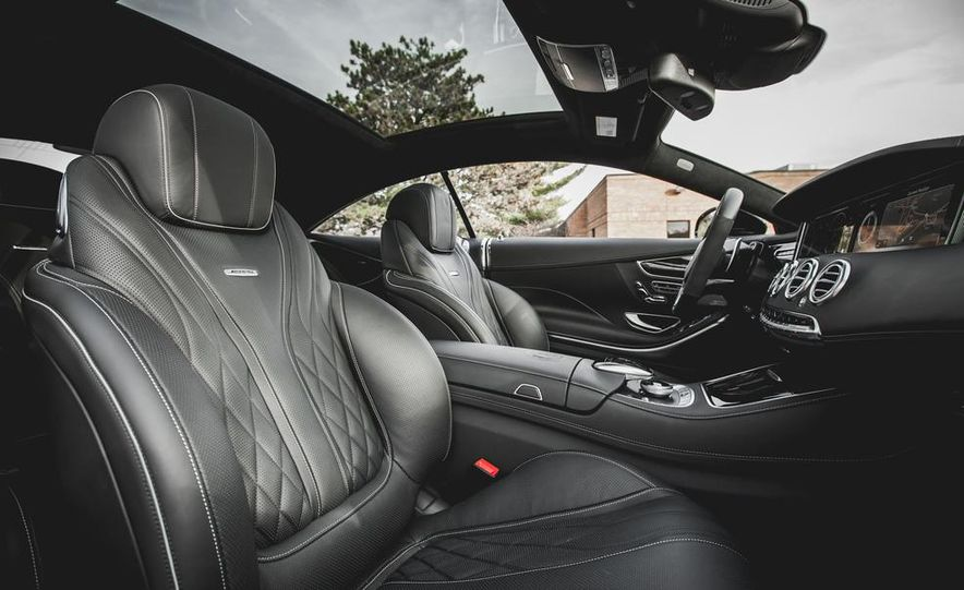 2015 Mercedes-Benz S63 AMG 4MATIC coupe - Slide 20
