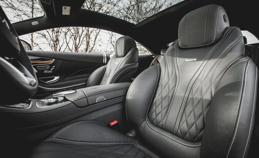 2015 Mercedes-Benz S63 AMG 4MATIC coupe - Slide 21