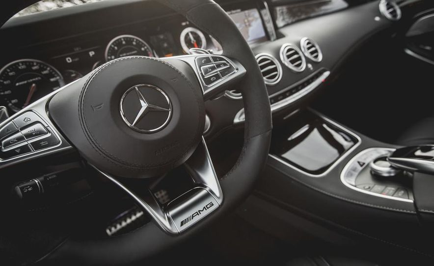 2015 Mercedes-Benz S63 AMG 4MATIC coupe - Slide 26