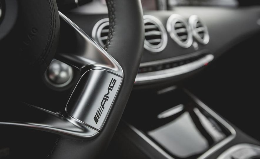 2015 Mercedes-Benz S63 AMG 4MATIC coupe - Slide 29