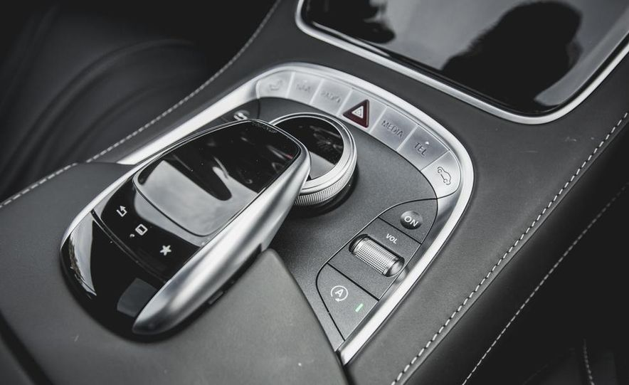 2015 Mercedes-Benz S63 AMG 4MATIC coupe - Slide 34