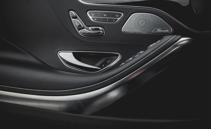 2015 Mercedes-Benz S63 AMG 4MATIC coupe - Slide 35