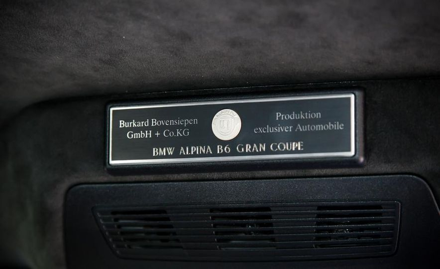 2015 BMW Alpina B6 Gran Coupe - Slide 31