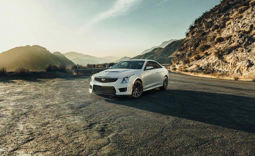2016 Cadillac ATS-V coupe - Slide 17