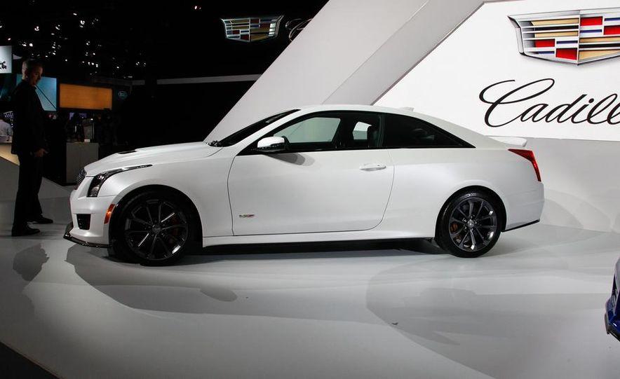 2016 Cadillac ATS-V coupe - Slide 3