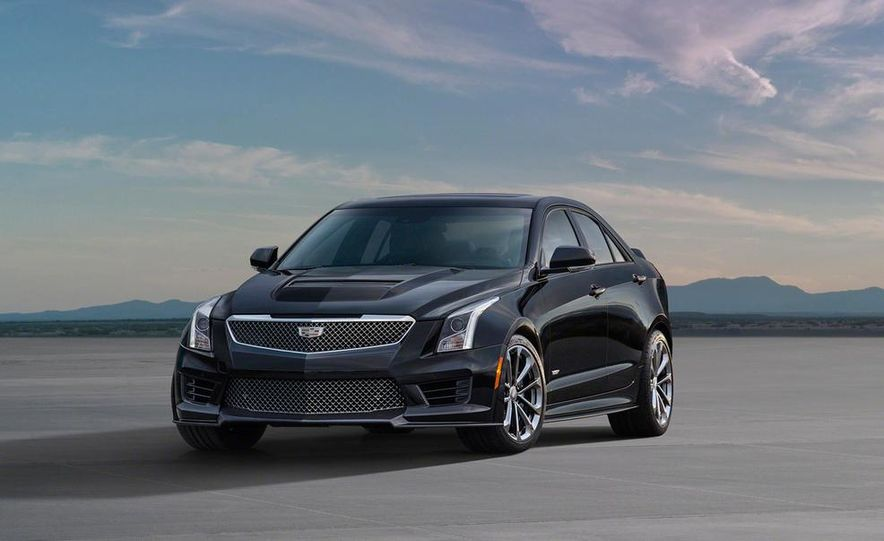 2016 Cadillac ATS-V coupe - Slide 42