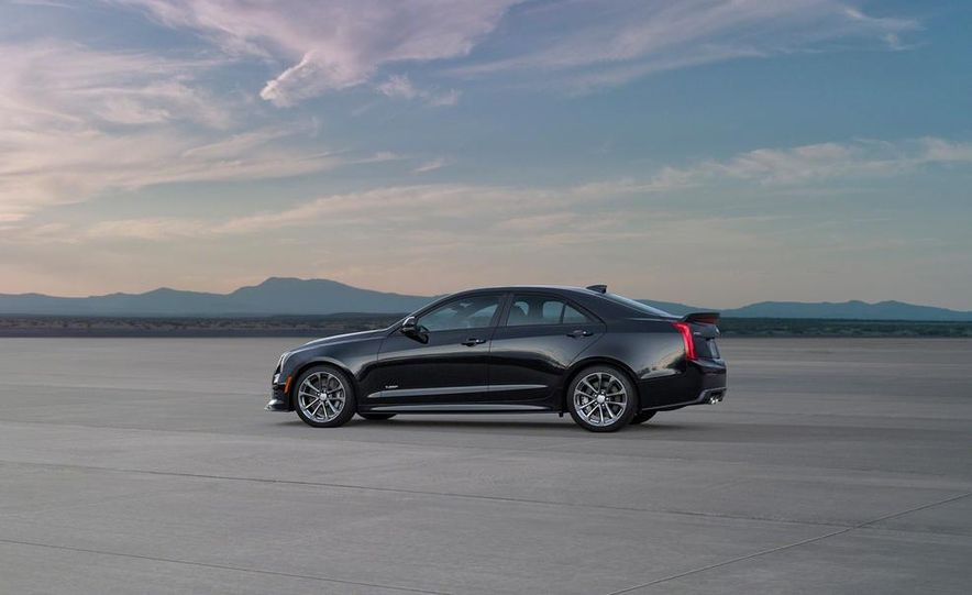 2016 Cadillac ATS-V coupe - Slide 43