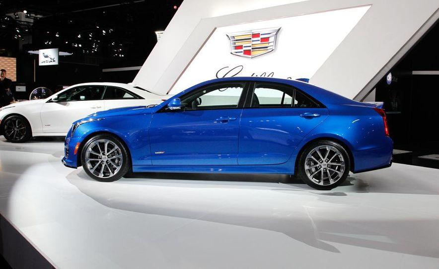 2016 Cadillac ATS-V coupe - Slide 32