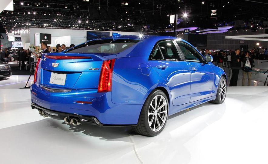 2016 Cadillac ATS-V coupe - Slide 35